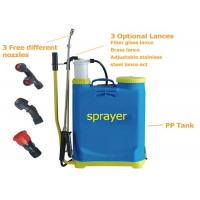 Buy cheap Agricultural manual Battery Operated Knapsack Sprayer16L , knapsack pressure sprayer from wholesalers
