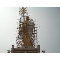Buy cheap 12 meters high bronze bodhisattva,Largest Ksitigarbha buddha sculptures from wholesalers