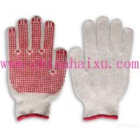 Buy cheap 7guage Pvc Dotted Gloves from wholesalers