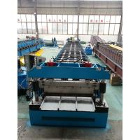 Buy cheap GI / PPGI Kliplock roll forming machine Wall Board Structure For Roofing Sheet product