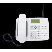 Buy cheap LTE FKT - 4 4G Fixed Wireless Phone White 4G Feature Phone With 1000mA Battery product