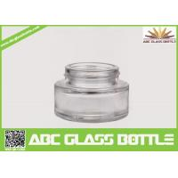 Buy cheap Best Selling Foundation Bottle Glass Cosmetic Cream Container,Clear Skin Care product