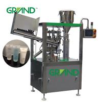 Buy cheap Soft Tube Filling Sealing Machine Vertical Cosmetics Ointment Plastic ZHY-YP60 product