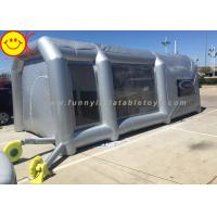 Buy cheap Grey Large Inflatable Tent Drive - In Workstation Inflatable Spray Paint Booth With Filter from wholesalers