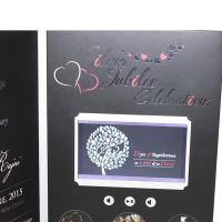 Buy cheap VIF Free Sample Limited Buttons function lcd video business cards Full colors digital lcd video mailer from wholesalers