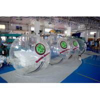 Buy cheap 2m Diameter Transparent Inflatable Walk On Water Ball For Pool / Water Park product