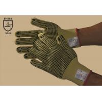 Buy cheap 100 % Kevlar double-side PVC dotted glove,cut resistance,Non-slip,Gauge10 from wholesalers