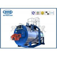 Buy cheap Oil Fired / Gas Fired Steam Boiler , Industrial Steam Generators High Efficiency from wholesalers