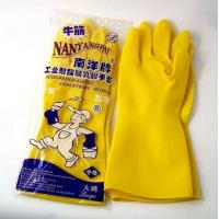 Buy cheap Latex household cleaning gloves from wholesalers