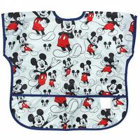 Buy cheap Disney Mickey Mouse Junior Bibs , Short Sleeve Bib / Smock For 1-3 Years from wholesalers