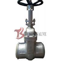 Buy cheap High Performance Handwheel Gate Valve Butt Welding End For 150LB Z61H product