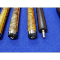 Buy cheap Hade made stainless steel joint rose wood custom snooker cue 3 / 4 joint cue from wholesalers