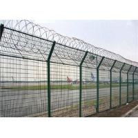 Buy cheap Spiral Razor Airport Security Fence Powder Coated Metal Material Anti Acid Alkali from wholesalers
