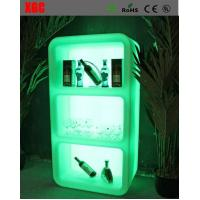 Buy cheap RGB Rechargeable Illuminated Floor Standing Wine Rack Bar Furniture For Night Club from wholesalers