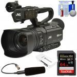 Buy cheap Cheap JVC GY-HM180U Ultra 4K HD 4KCAM Pro Video Camera Camcorder & XLR Microphone Kit from wholesalers