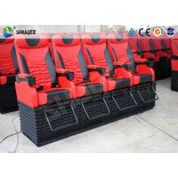 Buy cheap Profession 4D Movie Theater With Feet Tickle / Vibration / Push Back product