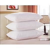 Buy cheap White Goose Feather and Down Pillow, 100% Cotton Fabric, King Size, Set of 2 from wholesalers