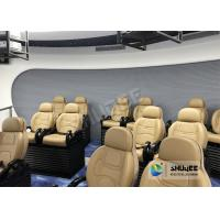 Buy cheap Luxury Chair 5D Movie Theater Simulator For Playground Center 2 Years Warranty product