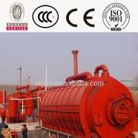 Buy cheap 5 Tons waste tire pyrolysis plant from wholesalers