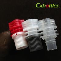 Buy cheap Different Style Diameter 8.6 Millimeter Plastic Spout Cap For Plastic Doypack product
