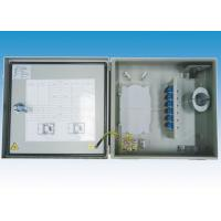 Buy cheap 12 CORE Outdoor Fiber Termination Box Wall Mounted Fiber Optic Connection Box from wholesalers