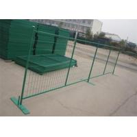 Buy cheap PVC Coated Wire Mesh Canada , Portable Fence Canada Low Carbon Steel Material product