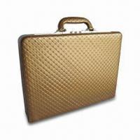 Buy cheap Leather Briefcase, Measures 445 x 330 x 70mm, with 2-digit Combination Lock from wholesalers