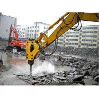 Buy cheap What is the best way of breaking concrete building bridge pile?BYD145 excavator hydraulic breaker product
