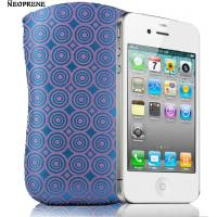 China protective waterproof neoprene sleeve case by zig-zag stitching for iphone 4/4s on sale