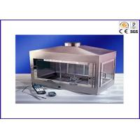 Buy cheap Building Material Flammability Testing Equipment Ignitability Test Single Flame Source from wholesalers