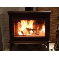 Buy cheap Indoor Or Outdoor Cast Iron Garden Chimney Powder Coated Finishing from wholesalers