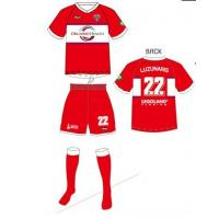 Buy cheap Dry Fit Custom Sublimated Soccer  Wear with Socks for Children / Adult Team from wholesalers