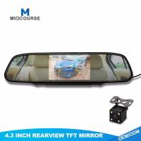 Buy cheap 4.3 Inch LCD Car Monitor for Rear View Mirror from wholesalers