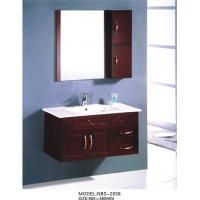 Buy cheap Sanitary ware Square Sinks Bathroom Vanities oak Material 80 X 48 / cm from wholesalers