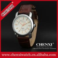 Buy cheap 2015 L023A Colorful Dial Watch Very Cheap Watches Made in China PU Leather Watch Stainless Steel Caseback Quartz Watch from wholesalers
