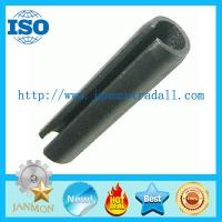 Buy cheap DIN1481(ISO8752) Slotted Spring Pin,Black slotted spring pin,Black high tensile roll pin,Spring steel roll pin Black from wholesalers