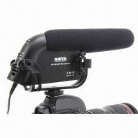 Buy cheap Shotgun Microphone for Camcorders and DSLR Cameras, Exhibiting Excellent Off-axis Rejection from wholesalers