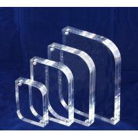 Buy cheap 10mm / 15mm Clear Acrylic Photo Frames Desktop Stand OEM product