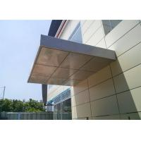 Buy cheap Aluminum Cladding Panels , Aluminum Building Panels 1220*2440 Mm Thickness from wholesalers