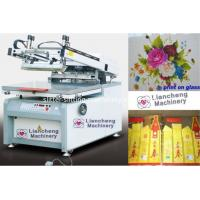 Buy cheap China top 1 screen press JINBAO Brand JB-8012G/6090G flat Microcomputer High precision screen printing machine from wholesalers