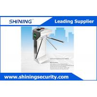 Buy cheap Access Control Tripod Waist High Turnstile Security Systems With Manual Button from wholesalers