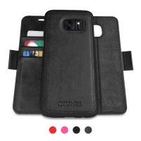 Buy cheap Samsung S8 Leather Case Folio Style Separate Magnet RFID Blocking Card Slots Holder from wholesalers