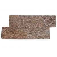 Buy cheap Yellow Granite Sclad Ledger Panels,Sesame Yellow Stacked Stone,Tiger Skin Yellow Stone Veneer,Granite Culture Stone from wholesalers