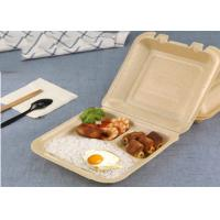 Buy cheap Disposable Box Biodegradable Microwave Corn Starch Food Container box from wholesalers