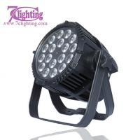 Buy cheap IP65 18LED PAR RGBWA+UV,Daisy Chain Link Outdoor spotlighting Stage Theater Project from wholesalers