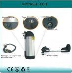 Buy cheap 36V 9Ah Li-ion Water Bottle E Bike Battery Packs from wholesalers