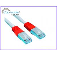 Buy cheap High Speed Cat 6e Network Ethernet Cable with red & white color from wholesalers