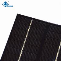 Buy cheap 2W solar panel photovoltaic 9V For portable solar charger ZW-115115 High Efficiency cheap solar panel product