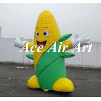 China new designed food product inflatable corn replica for advertising on sale
