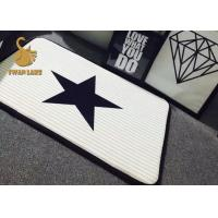 Buy cheap SGS Durable Indoor Area Rugs / Waterproof Hardwood Floor Mat With Logo from wholesalers